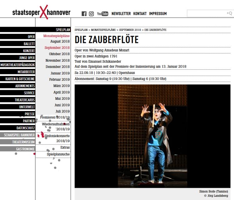 ドイツ ハノーファー オペラ チケット