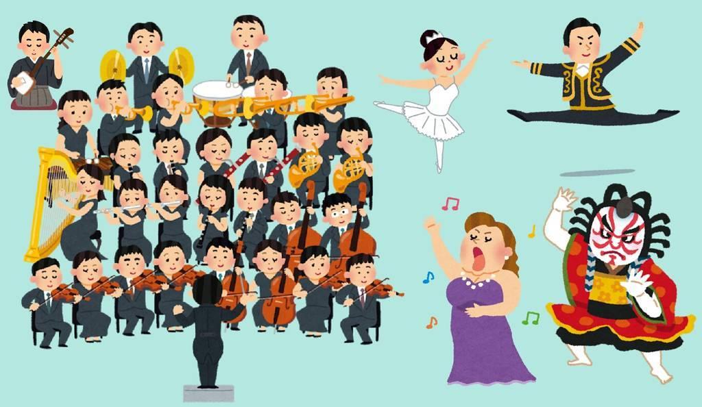 オペラと歌舞伎とバレエの比較