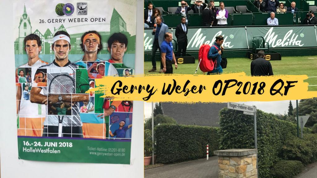 best authentic d76cc adf19 Gerry Weber Open '18 QF観戦記「フェデラーは裏切らない」の巻 ...