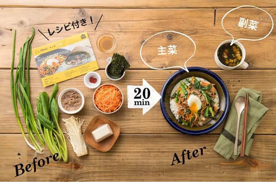 20分で主菜と副菜がつくれるKit Oisix(キットオイシックス)の画像