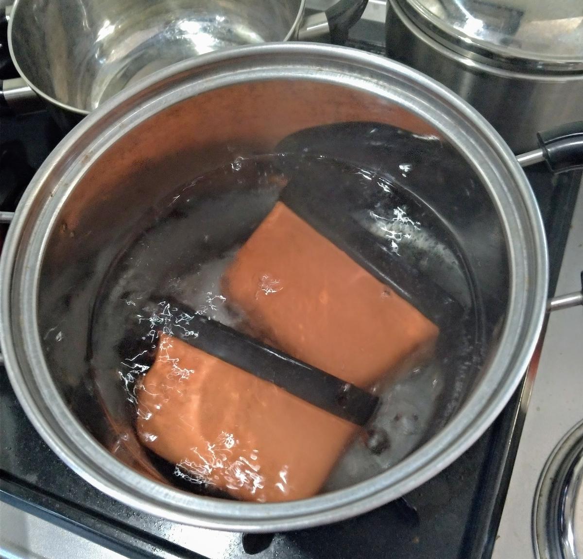 ウェットシェルター煮沸消毒