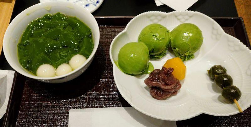 生茶ゼリー(中村藤吉)