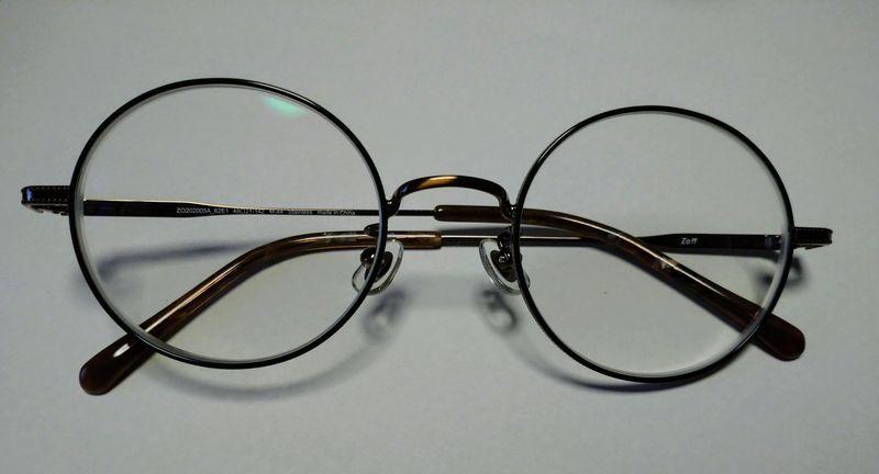 Zoff 曇り止めコーティングメガネ
