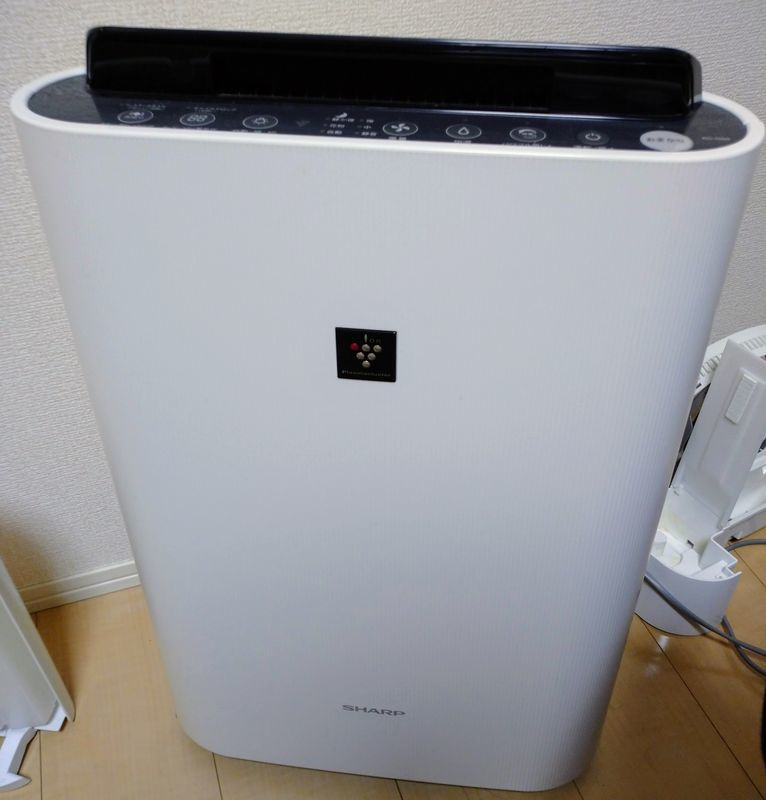 シャープ 加湿空気洗浄機
