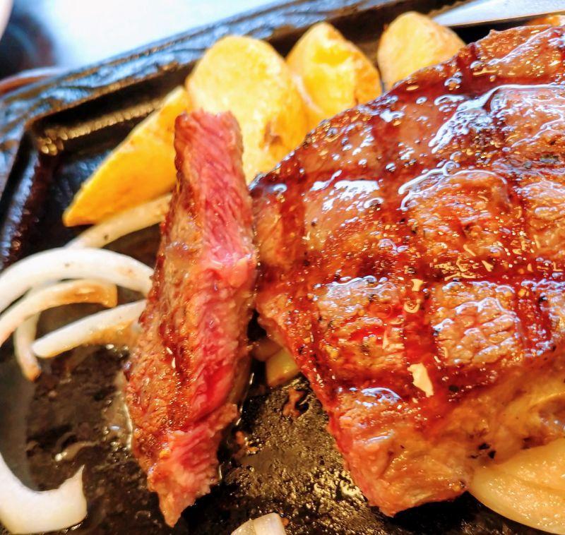 ステーキガストみすじステーキ焼き加減