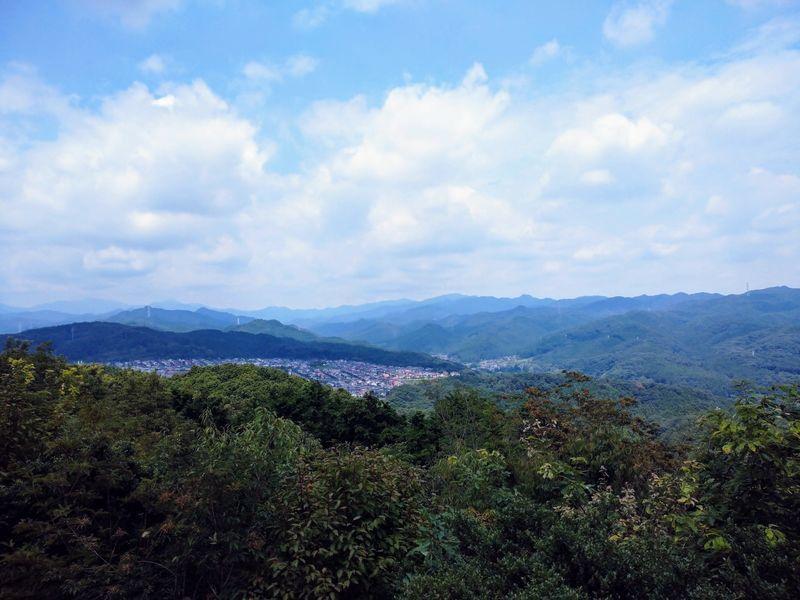 多峰主山頂上の眺め