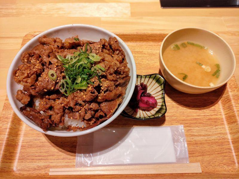 肉丼本舗 牛カルビ丼