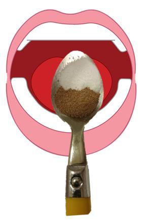 spoon-powder