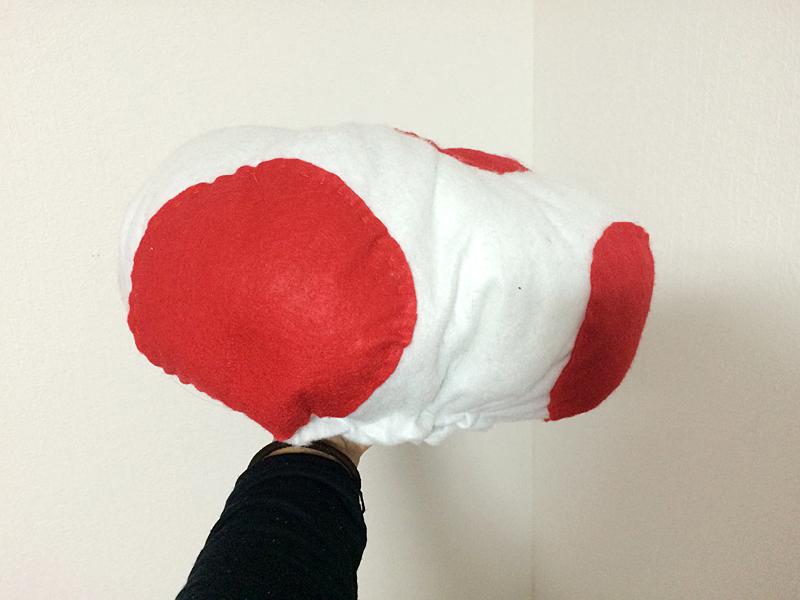 キノピオ仮装の作り方