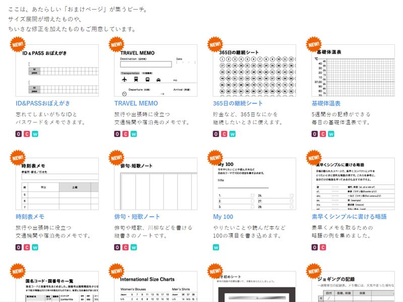 2017年ほぼ日手帳