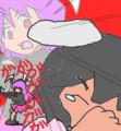 刺蜂 さんの今日のお題は、命がけで戦う鈴仙です!