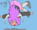 刺蜂さんの今日のお題は、宙返りをする鈴仙です!