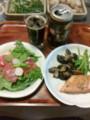 鮭マリネカルパッチョにも黒ビール