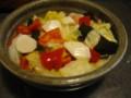 長芋とキャベツ昆布のピクルスで