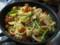シーフード我が家の野菜スパゲティ