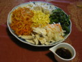ひと手間で余り野菜のナムルです