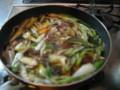 鴨とねぎゴボウ人参蕎麦の美味