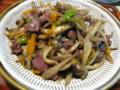鶏肝とあるある野菜の旨煮風