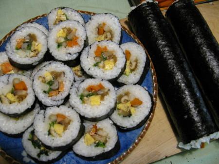 思い出の中にしっかり母の寿司