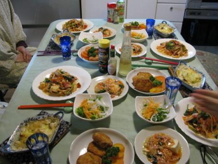 食べる会野菜とりどり昼の膳