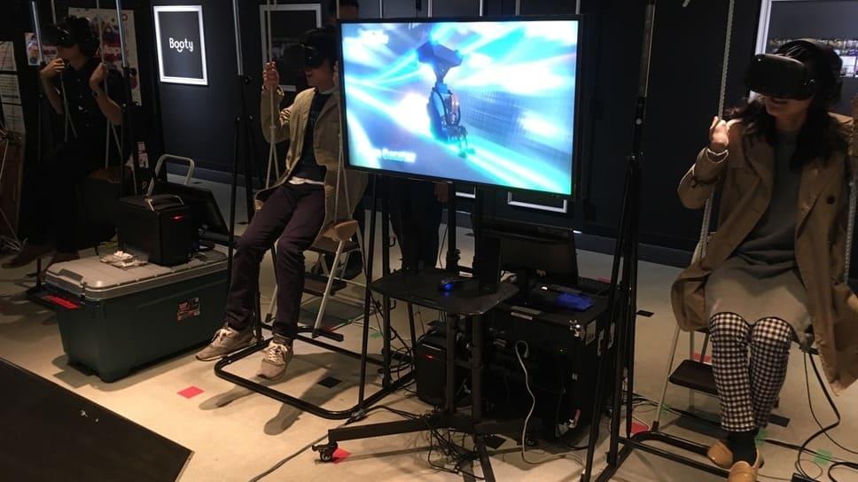東京ゲームショウ2018に大型アトラクションが登場!バーチャル世界のなかで自由に歩きまわれる「VR遊園地」も