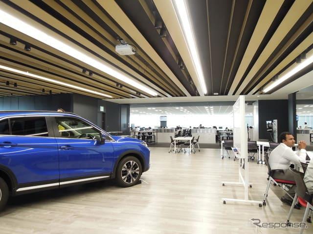 「楽しく仕事をするからこそ、人を魅了するクルマが作れる」を形にした三菱の新R&Dオフィス