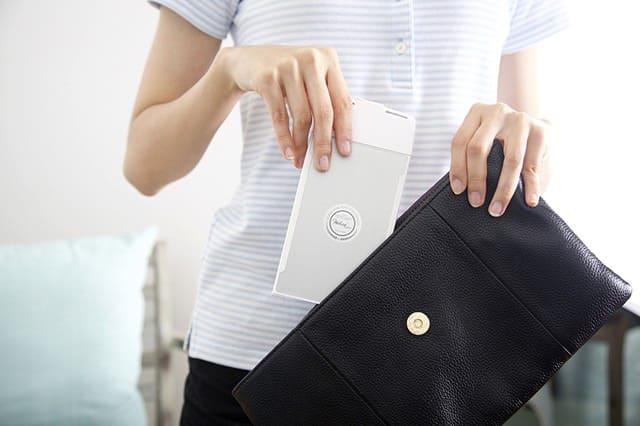いつでもどこでも、スマホがパソコンに!世界最薄、最軽量のポケットサイズ折り畳み式キーボード「Wekey」