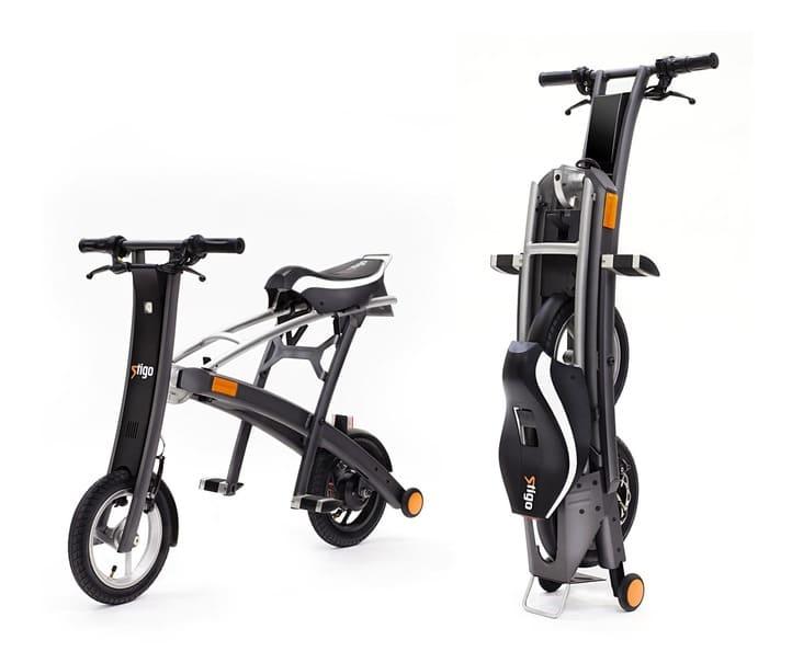 トランク気分で持ち運び!公道も走れるコンパクトサイズの電動バイクが登場