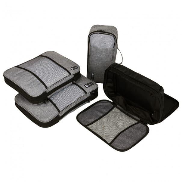 出張や旅行に持っていく服をコンパクトに!スーツケースの整理整頓がはかどる圧縮バッグセット