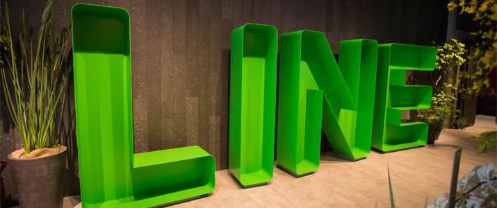 素通り禁止! LINEカラーでいっぱいなLINE株式会社の新オフィスをご紹介!