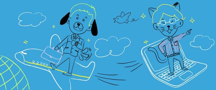 IT企業で働く人は猫好き多し! 犬派猫派でみる業種・職種分析!