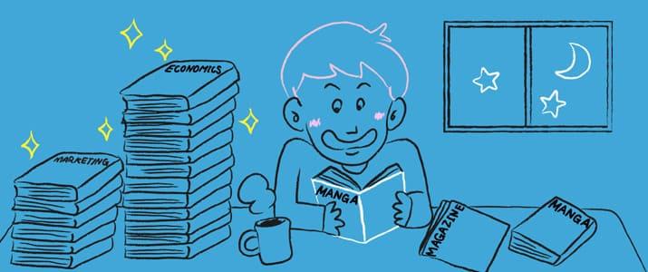 20代の活字離れはウソだった!?本・雑誌・漫画、月に何冊読んでる?