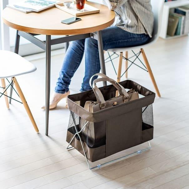 会社のデスクにもぴったり!簡単設置で持ち運びも可能な収納ボックス