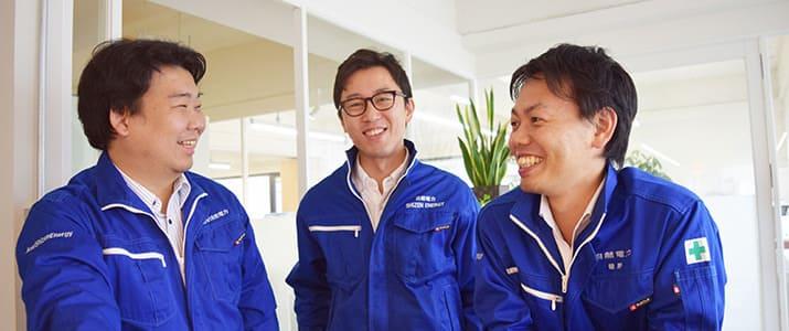 """「エネルギー事業に人生を懸ける」3人の勇者から始まった""""再エネ""""プロジェクト"""