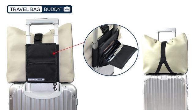 出張や旅行を快適に!収納力やセキュリティ、機能性を兼ね備えたオーガナイザーバッグ