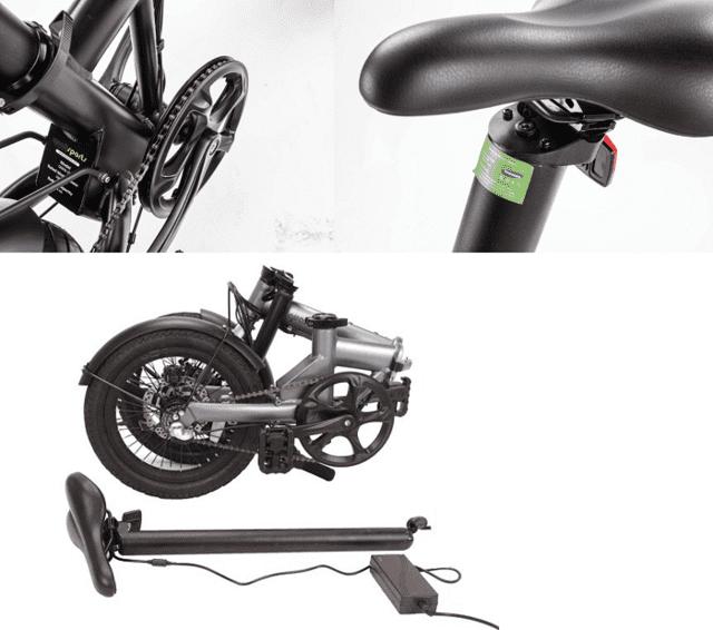 シンプルでスタイリッシュ!オフィスでも邪魔にならないオシャレな折り畳み電動アシスト自転車が登場