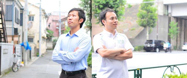 【もうひとつの人生】 日体大陸上部の元リレーメンバーで、スポーツに現場と裏方からそれぞれ貢献する起業家の2人