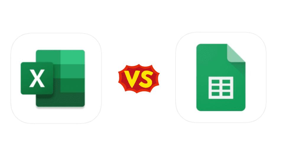 Excel VS スプレッドシート 外出先で仕事をするときにおすすめのアプリはどっち?