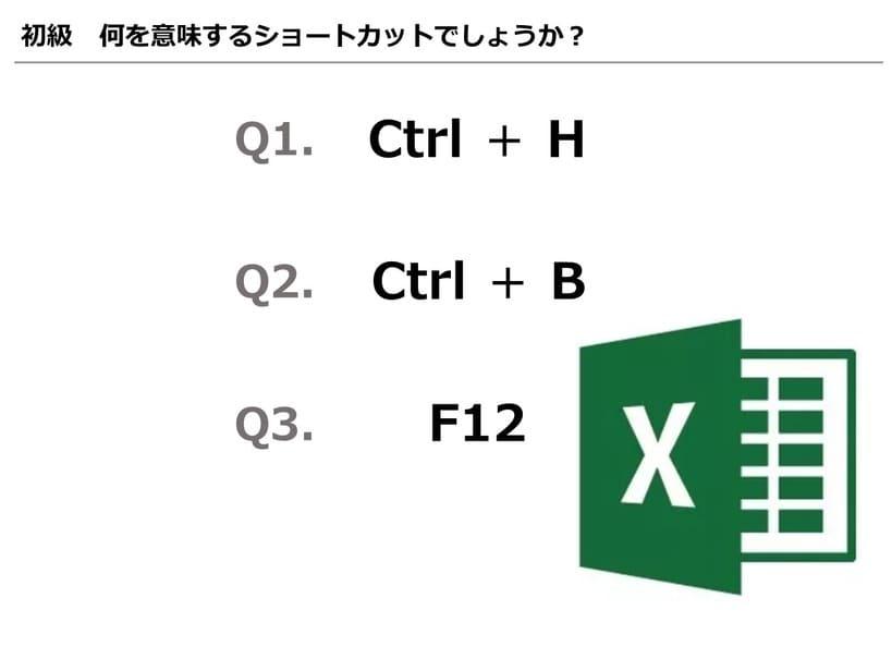 【Excel】あなたのExcelレベルはどれくらい?レベルチェッククイズ Vol.1
