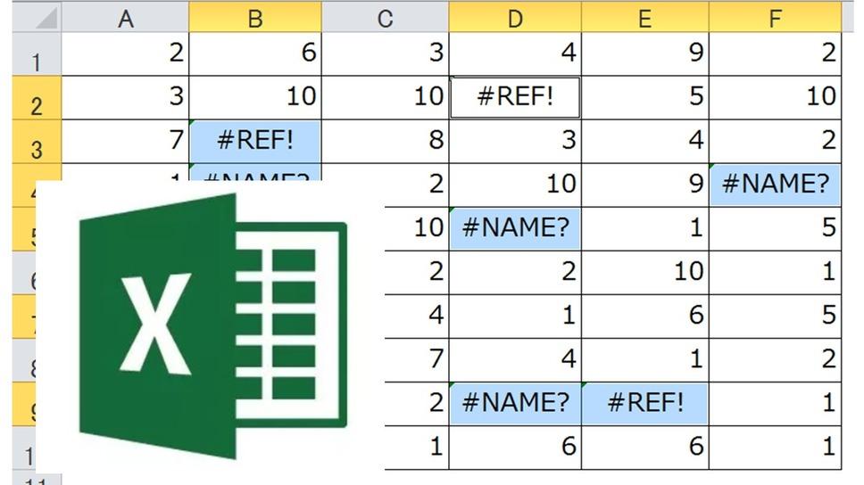 【Excel】エラー値の原因と対処法!「#N/A」「#DIV/0!」「#VALUE!」からもう逃げないで