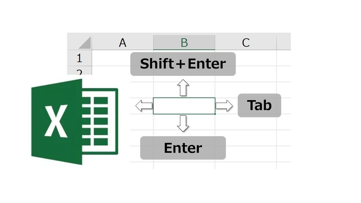 【Excel】カーソル移動のテクニック・小技集|これであなたは定時に帰れる