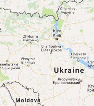 大型の武器庫が大爆発、ウクライナ