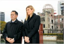 ノーベル平和賞ICANのこの人が広島