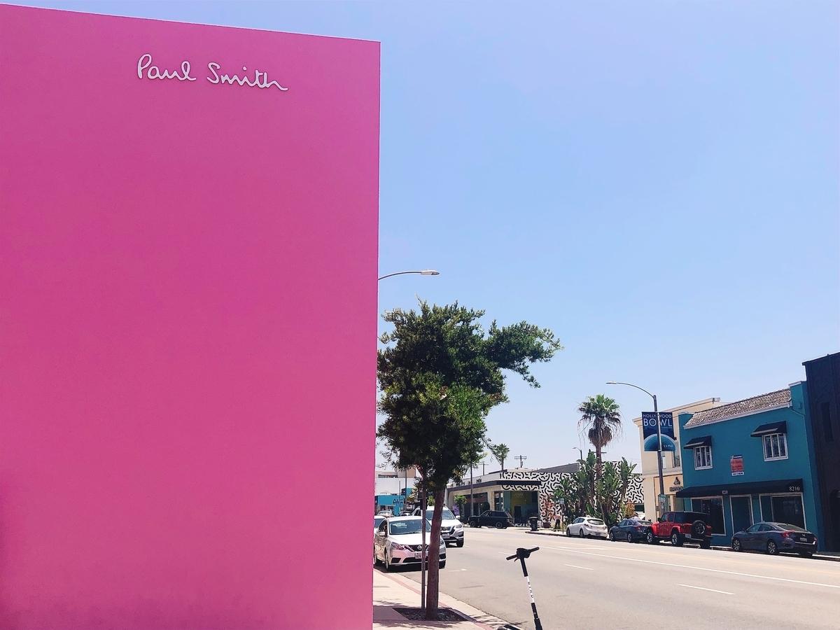 アメリカ ひとり旅 一人旅 女子 ロサンゼルス メルローズ サンタモニカ 古着 海 ビーチ ポールスミス
