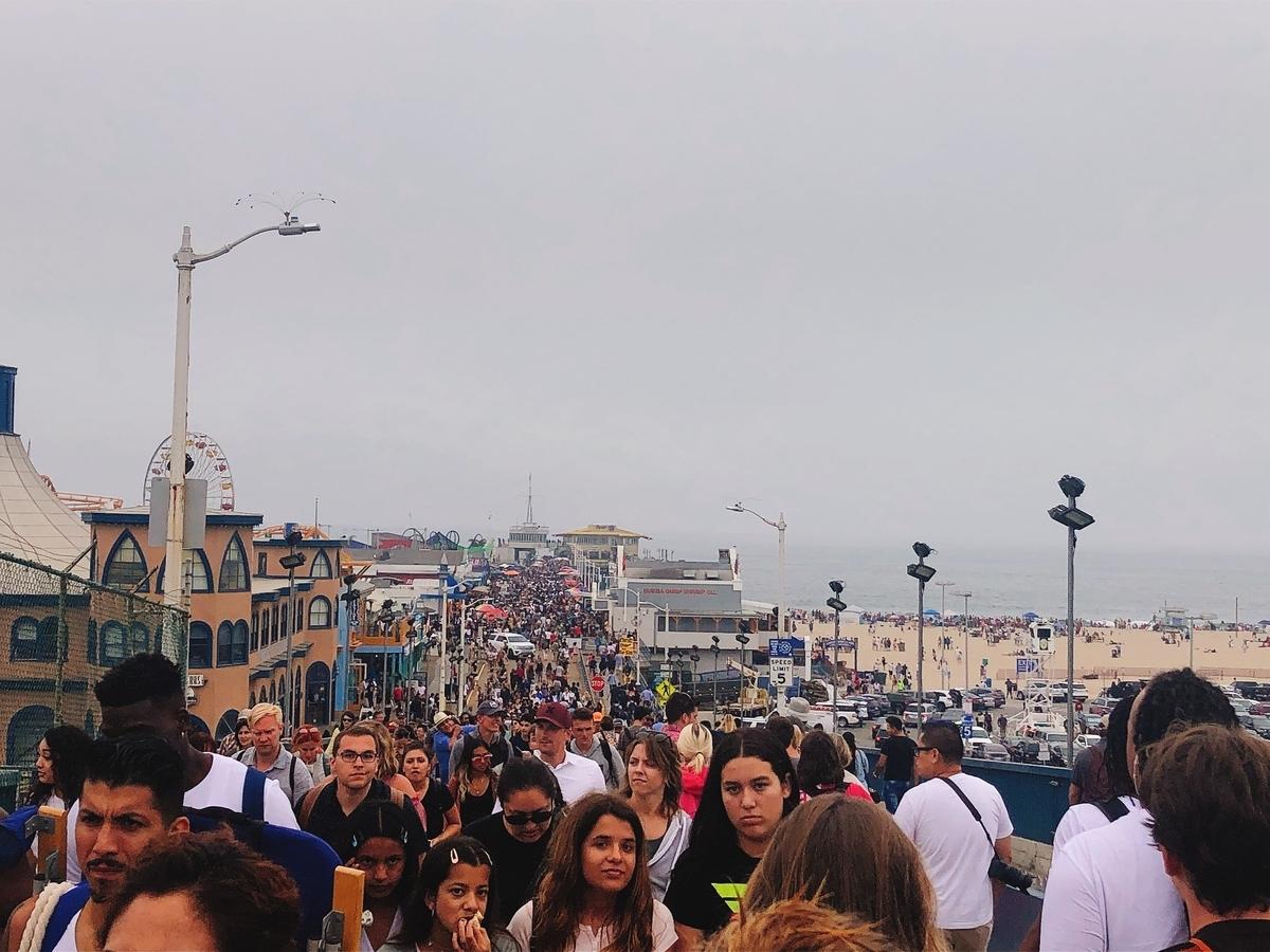 アメリカ ひとり旅 一人旅 女子 ロサンゼルス メルローズ サンタモニカ 古着 海 ビーチ