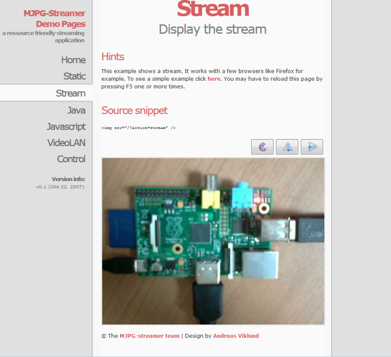 mjpg-streamer