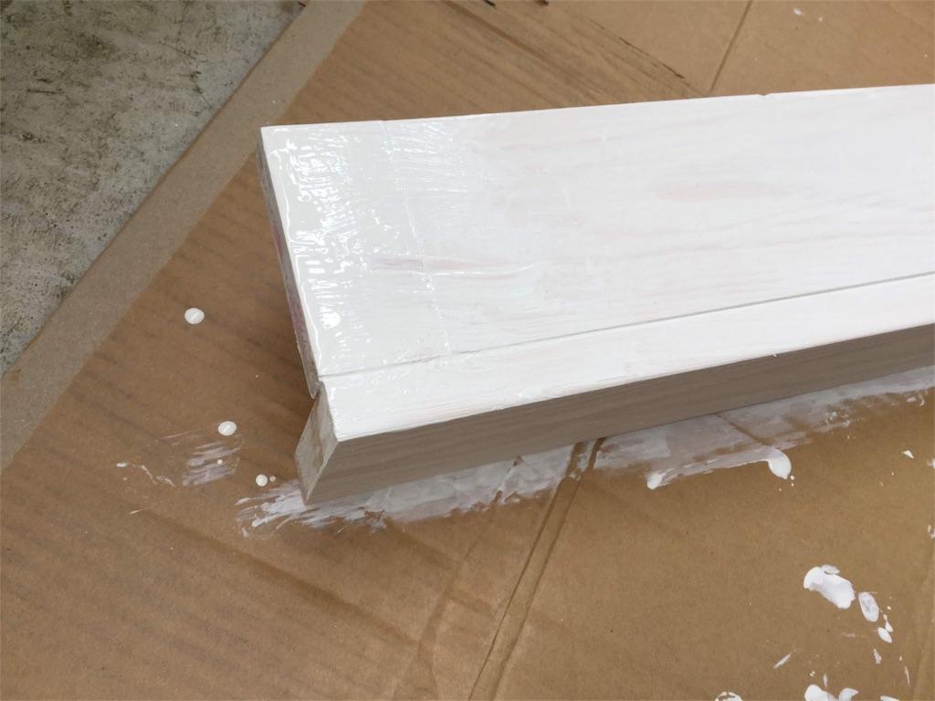 木材の端の部分です