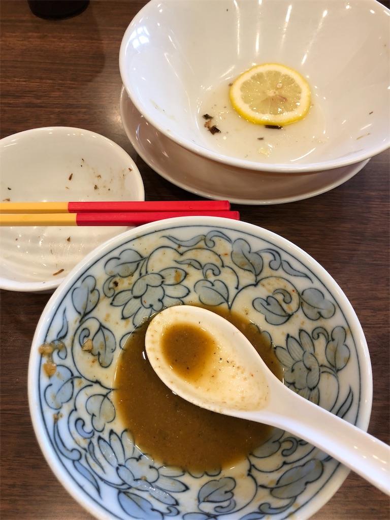 完食のお皿の写真です