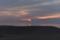 鳥取砂丘の夕陽