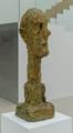 [美術][SEL35F1.8OSS][ジャコメッティ展]大きな頭部(1960)